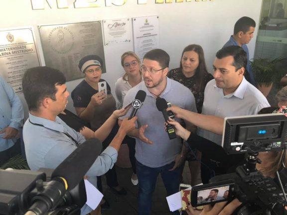 Vice-governador Carlos Almeida Filho e governador Wilson Lima. Foto: Divulgação/Carlos Almeida Filho. Facebook