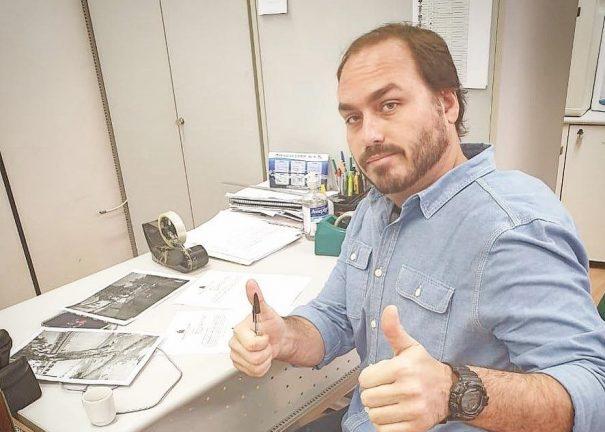 Vereador Carlos Bolsonaro. Foto: Divulgação
