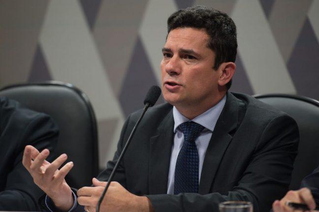 O juiz federal Sergio Moro participa na Comissão de Constituição, Justiça e Cidadania (CCJ) do Senado de audiência pública sobre projeto que altera o Código de Processo Penal (Fabio Rodrigues Pozzebom/Agência Brasil)  Foto: Fabio Rodrigues Pozzebom/Agência Brasil