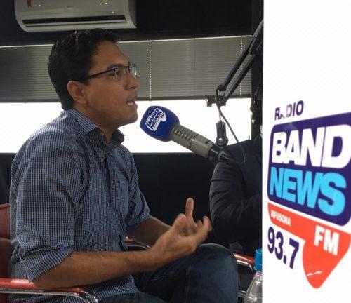 Psiquiatra Luiz Henrique Novaes. Foto: Band News Difusora
