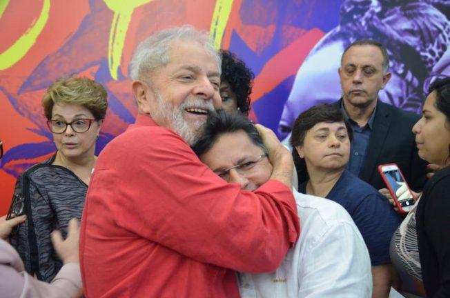 Foto: Lula e Sinésio. Divulgação/ Sinésio