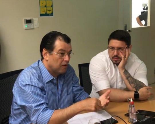 Foto: Reprodução vídeo das redes sociais do senador Eduardo Braga