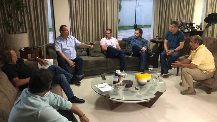 Foto: BNC - Bancada do Amazonas se reuniu na casa do senador Omar Aziz, nesta quinta-feira, dia 9