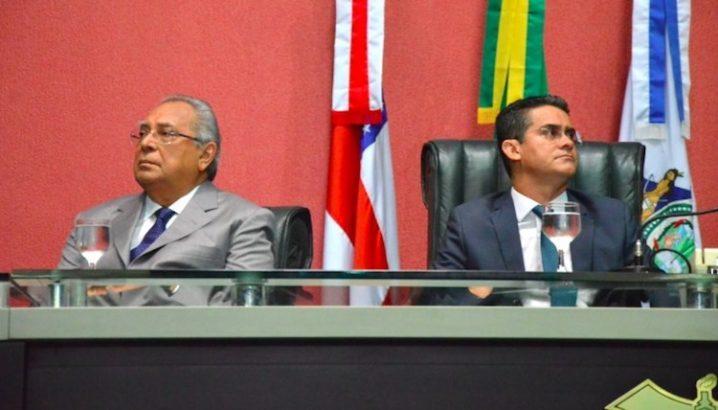 Foto: Amazonino Mendes e David Almeida (site BNC)