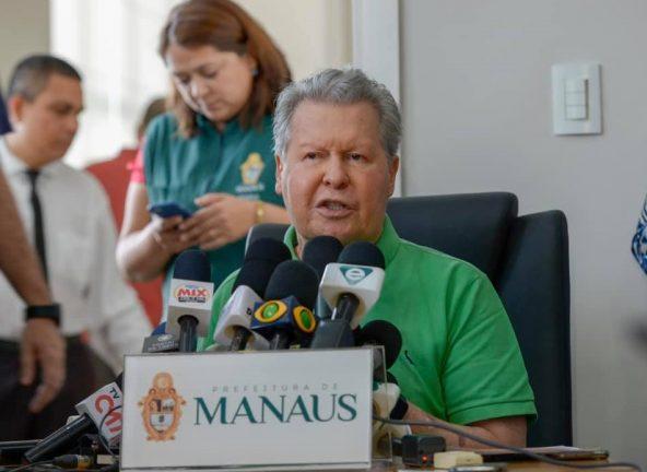 Foto: prefeito de Manaus, Arthur Neto. (Divulgação Secom)