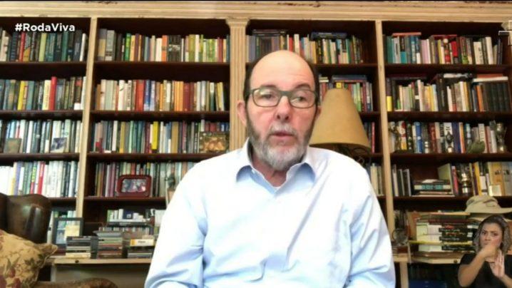 Foto: Economista e ex-presidente do Banco Central Armínio Fraga (Reprodução live TV Cultura)