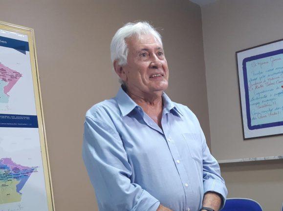 Foto:  Diretor-presidente da FMT-HVD (Fundação de Medicina Tropical), o infectologista Marcus Vinícius de Farias Guerra (Divulgação).